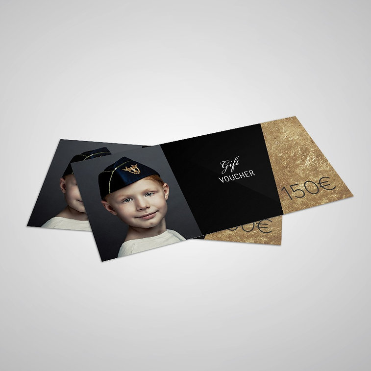 Levente Portrait Photography Berlin Gift Voucher
