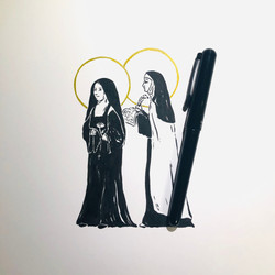 St. Therese & St. Teresa