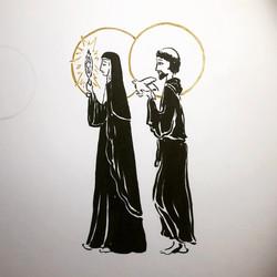 St. Clare & St. Frances