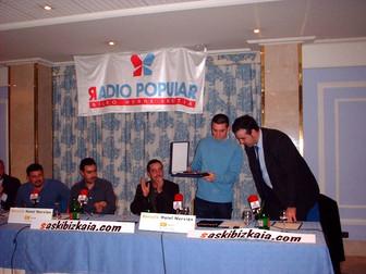 Mejor Jugador Bilbao Basket Javi Salgado