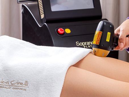 Depilação a laser: como cuidar da pele durante a quarentena
