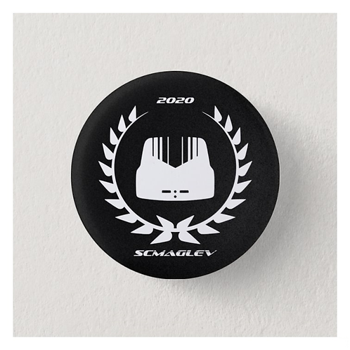 SCMAGLEV 2020 Logo Pin
