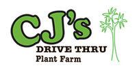 CJ's Drive Thru Plant Farm logo