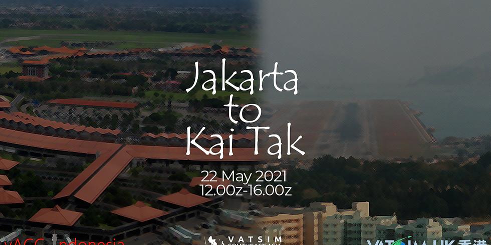 Jakarta to Kai Tak Flyin!