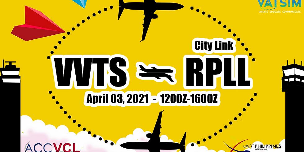 Manila RPLL - Ho Chi Minh VVTS City Link