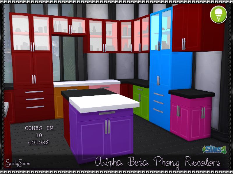 Alpha Beta Phong Cabinets & Counters