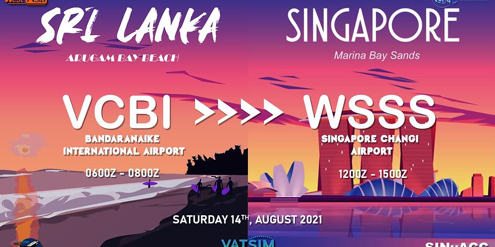 Sri Lanka to Singapore Shuttle