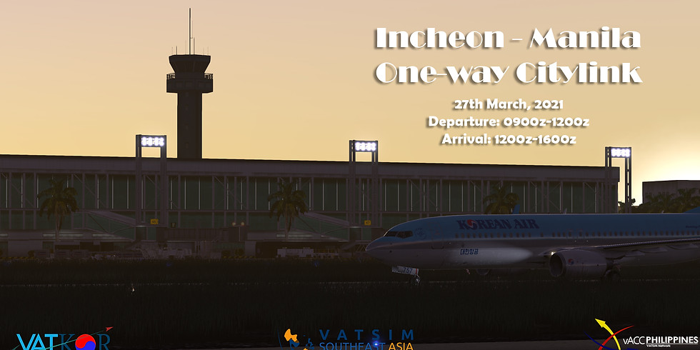 Incheon - Manila Citylink (1)