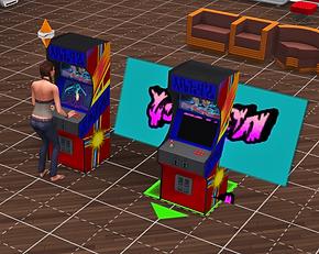 Decades - Arcade Machine & Foosball Table