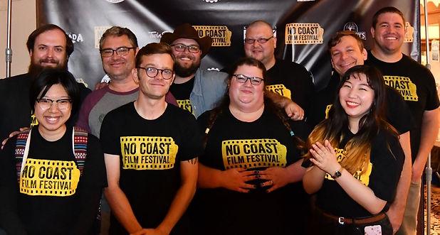 No Coast Film Fest 2019 Team