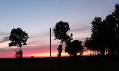 Sunset at La Maison Neuve