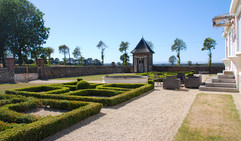End your day in our peaceful walled garden enjoying the views.