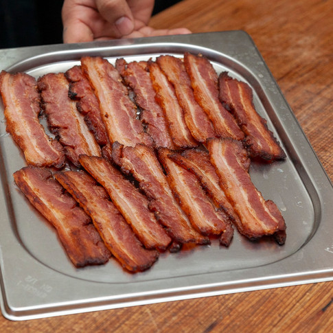 Our home smoked bacon