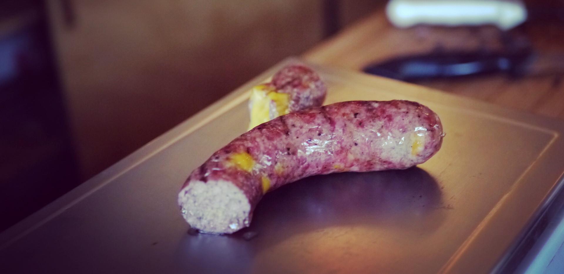 Pastrami Cheddar Sausage