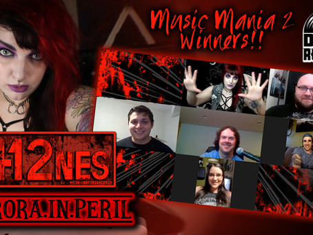 412nes: DI Records Music Mania 2 Winners... Aurora.in.Peril Zoom Interview!!