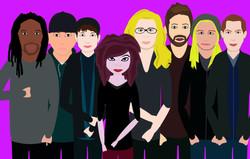 The Romantic Era & Trish for animated music video