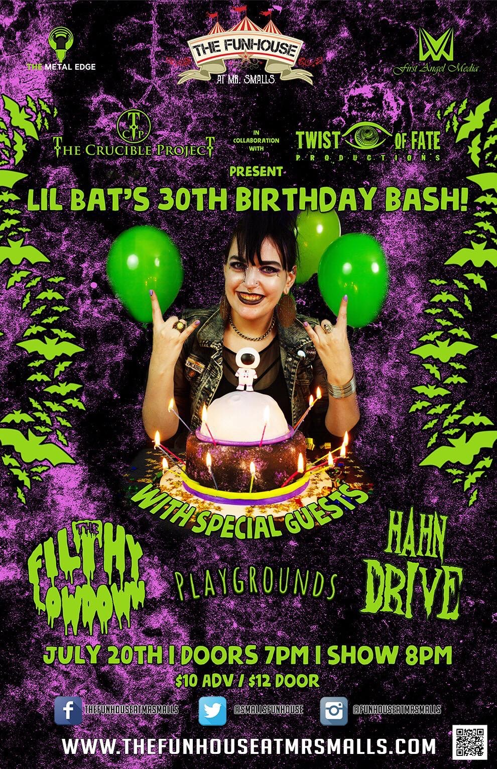 30th Bday Party Flyer