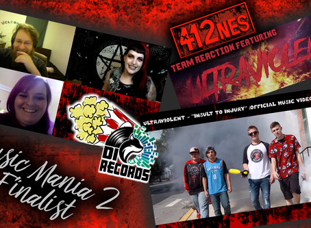 """412nes Reacts to UltraViolent's """"Insult to Injury"""" Official Video!"""
