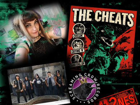 NEW MUSIC ALERT: THE CHEATS: CUSSIN' CRYING 'N' CARRYING ON + PLUS A GIVEAWAY!!