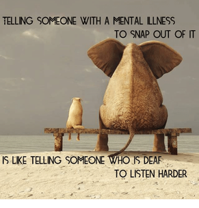 Telling People You Have Mental Illness