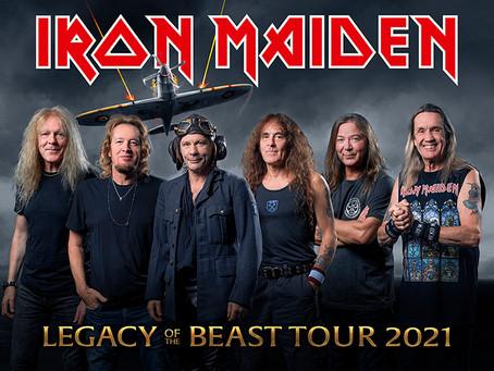 Iron Maiden cancela todos os Show de 2020.