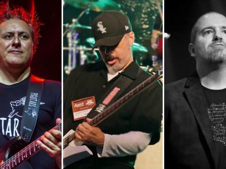 """Val Santos, Marcos Kleine, do Ultraje à Rigor, e Mauro Coelho em novo single """"Warriors Of Metal"""""""