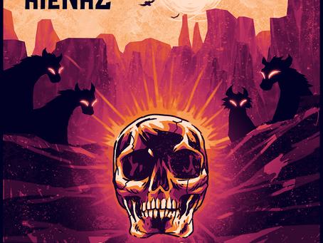 Hiënaz divulga capa do EP, nova formação e parceria com Abraxas