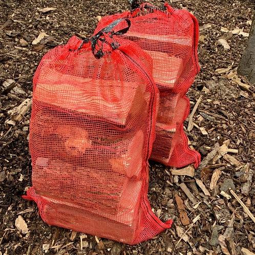 Bulk pallet netted logs