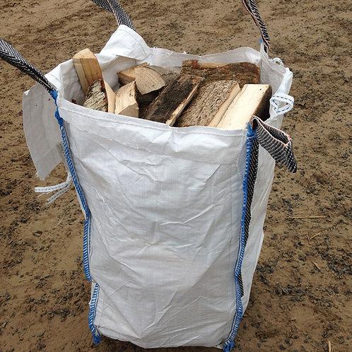 Barrow bag of logs