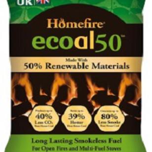 Ecoal 50 smokeless fuel