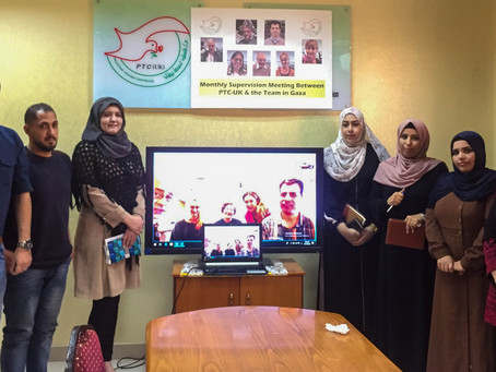 Expecting Trauma: PTC-UK on time dimensions of Gaza's Mental Health clinical practice