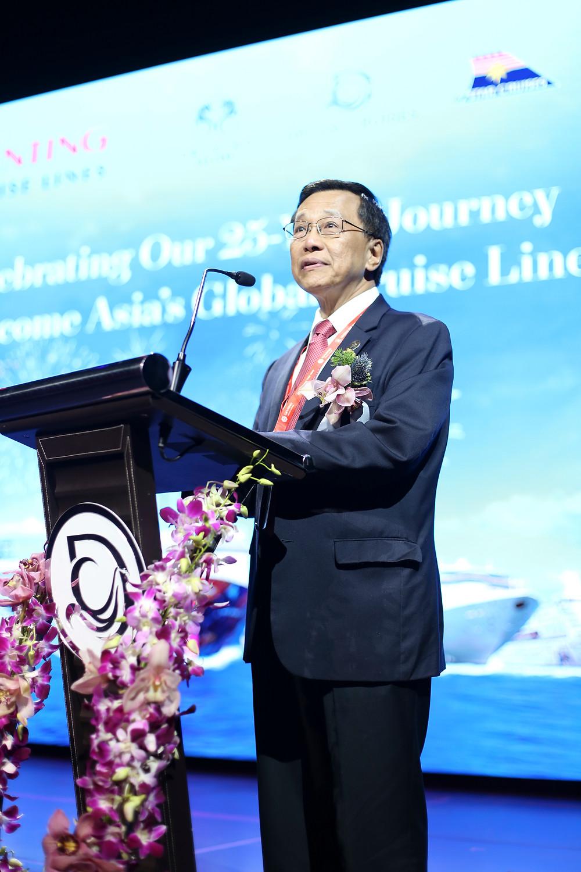 云顶香港主席兼行政总裁丹斯里林国泰致辞