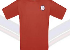 T-Shirt Bleu ou Rouge (logo transfert)