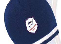BONNET marine (logo broderie)