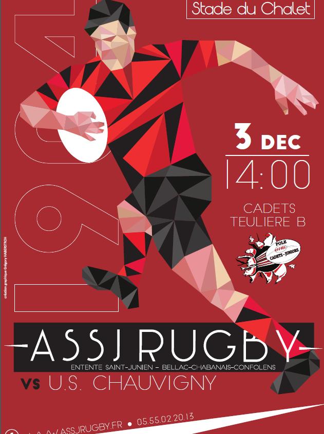 ASSJ vs Chauvigny 3.12.16