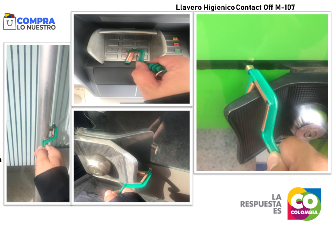 Llavero Higienico Contact off M 108