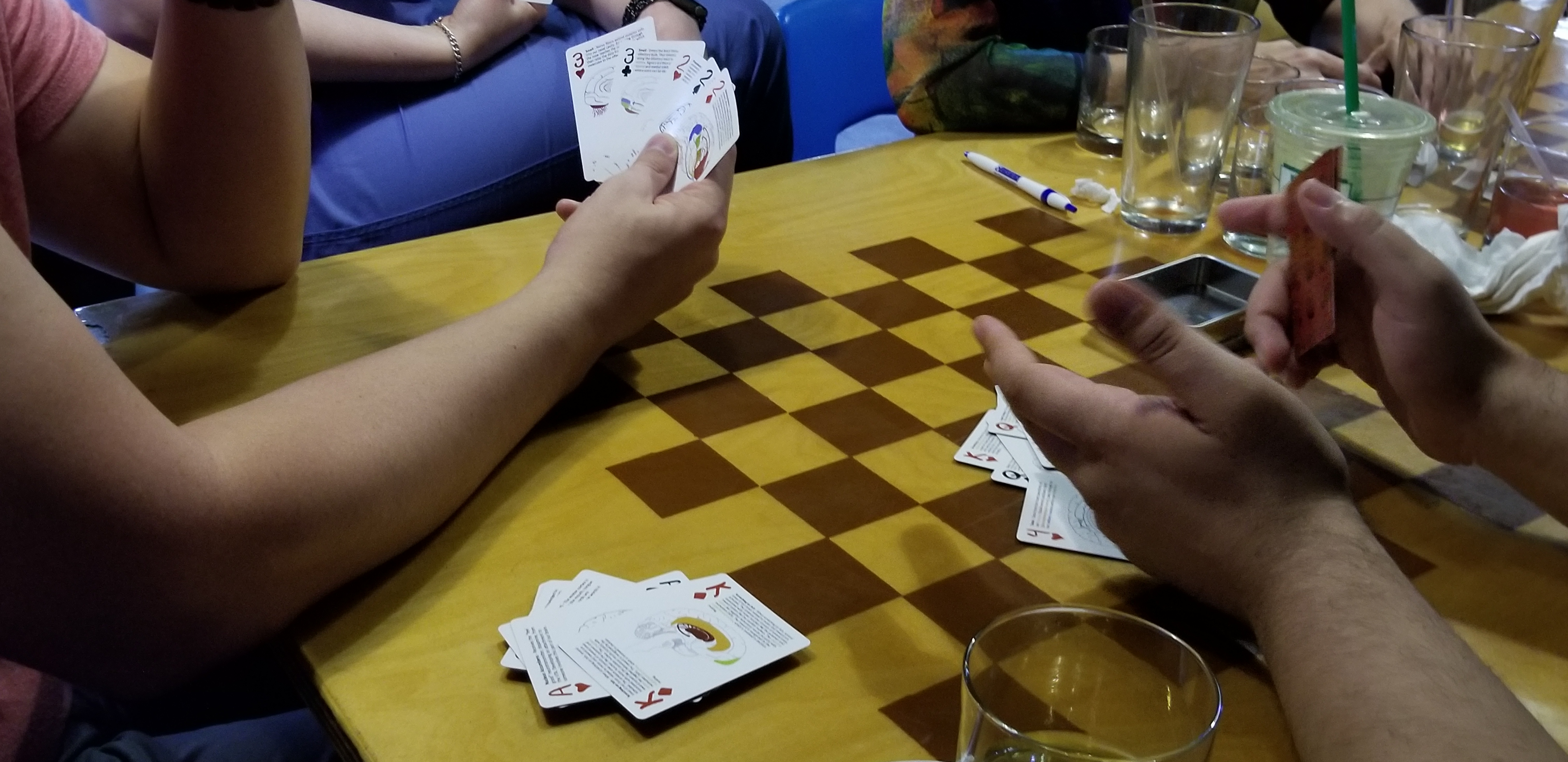 Brain Playing Cards