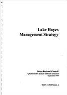 Lake Hayes Management Strategy 1995.png