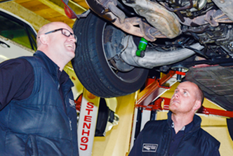 Under car Specialist Porsche Servicing Auckland