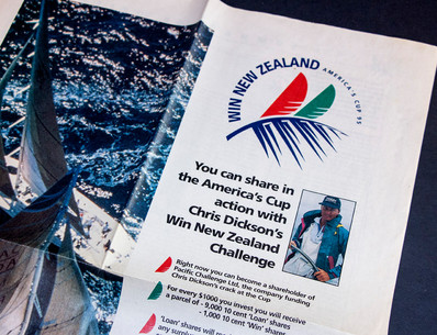 Crowd-funding campaign for 1995 America's Cup Challenge