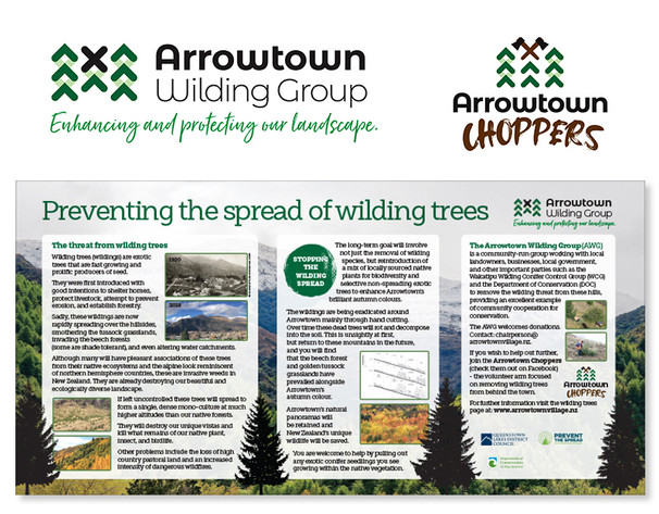 Arrowtown Wilding Group