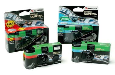 Fuji Film Team NZ disposable cameras
