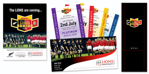 2005 Lions Tour corporate hospitality