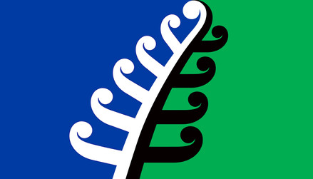 Our design for a new NZ flag