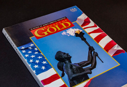 The official magazine of the 1992 Olympics for the US Olympic Committee