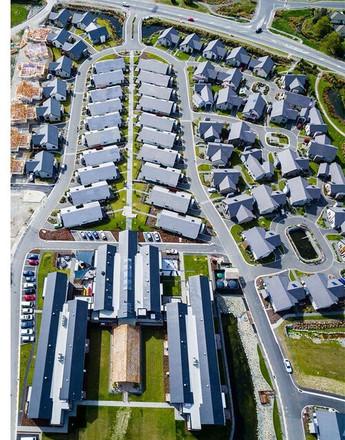 Trinity Construction Alpine View Retirement Village Christchurch aerial view 2