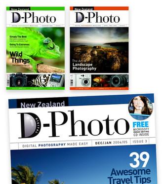 D-Photo magazine masthead