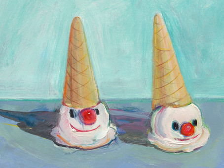 6/2020 PreK-K Clown Cones
