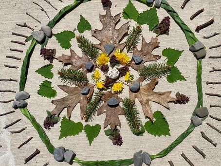 5/18/20 4th, 5th, 6th Goldsworthy - Environmental Art