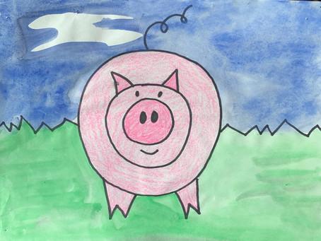 4/20/20 PreK-K Circle Pig